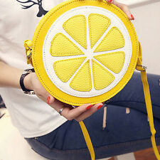 Lemon Style Ladys Fruit Slice Crossbody Shoulder Bag Messager Handbag Clutch LWY