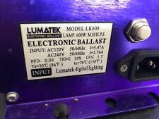 Lumtek Electronic Digital Ballast 600W 120/240V HPS