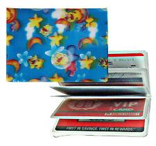 ID ATM CARD Holder Yellow Stars Moon Clouds 3D Lenticular  #IDH-DXX1#