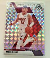 2019-20 Tyler Herro Mosaic NBA Debut Silver Mosaic Prizm