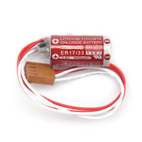 New for Maxell ER17/33 3.6V 1600MAH PLC Battery with 4pin Brown Plug