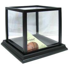 Black Basketball Display Case Sports Memorabilia NBA   SHADOW BOX