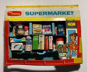 "Vintage Miniature Antique 1959 ""My Merry Supermarket"" Play Set Store #6 (A)"