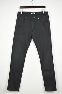 ACNE GREY THUNDER Men's W33/L34 Stretchy Slim Fit Jeans 37375-GS