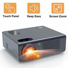 """Home Projector Artlii Energon Led Projector with Zoom, 250"""" HiFi Stereo Video HD"""