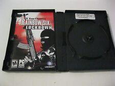 Tom Clancy's Rainbow Six Lockdown  PC CD-ROM Ubisoft