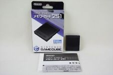Nintendo Game Cube Official Memory Card 251 Boxed DOL-008 JAPAN 1177