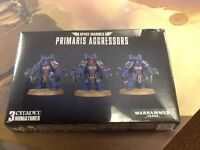 Primaris Aggressors 40K Warhammer Space Marines NIB Sealed