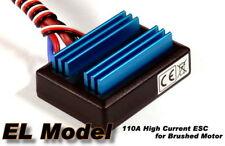 EL Model 110A RC Ship & Boat R/C Hobby Brushed Motor Speed Controller ESC SE082