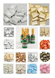 Neapolitan Milk Chocolate Wedding Christmas Party Events Table Favours Foiled