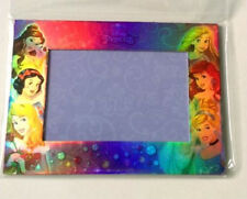 "Disney Princess Magnetic Picture Frame 4""x6"" Photos Magnetic and Back Stand NEW"