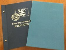 COMPLETE COLLECTIE FDC's ENKHUIZEN #1 t/m # 100 in DAVO album