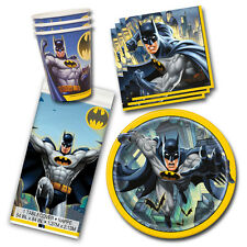 Batman DC Comics Superhero Birthday Party Tableware Pack Kit For 8