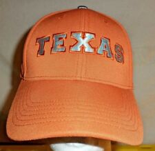 size 40 0c5e9 cc644 Texas Longhorns NCAA Football Burnt orange Baseball Hat Cap Adult Strapback  NWT
