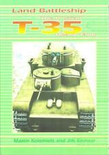 Land Battleship The Russian T-35 Heavy Tank Kolomiets Barbarossa Books