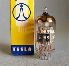 1 x E88CC 6922 TESLA NOS NIB MILITARY TUBE VALVE RÖHRE CODE 37 FROM 1983 TESTED