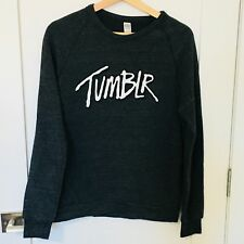 Alternative Apparel Tumblr Grey Pullover Sweatshirt Sweater Size Medium F20
