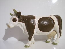 13213 Schleich Cow: Brown & White Cow, standing  ref:1D880