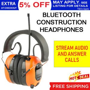 Bullant Wireless Bluetooh Headphones Ear Muffs Stereo AM FM Radio Handsfree Spor