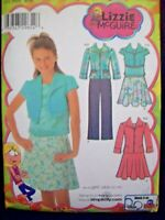 Simplicity Pattern 4261 Lizzie McGuire Jacket Skirt Pants Top Sizes 8-16 UC NOS