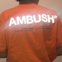 3M Reflective High Quality High Street Hip Hop Cotton Top Tees tentacion Ambush