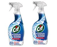 Cif  Power & Shine  Bathroom Cleaner Spray  2 x 700