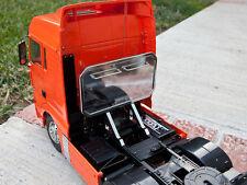 Add-on Tamiya 1/14 RC Semi Tractor King Man TGX XLX Rear Headache Aluminum Rack