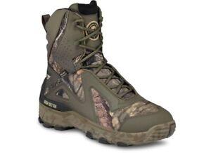 "Irish Setter 826 Vaprtrek LS 800 Gram Hunting Mossy Oak Boots 9"" Mens Size 8 EE"