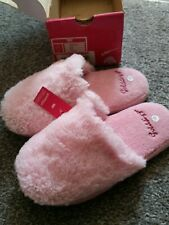 Goldigga Pink Fluffy Slippers Girls 1-2
