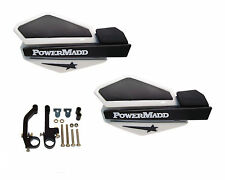 Powermadd Star Series Handguards Guards White / Black Snowmobile Ski Doo Summit