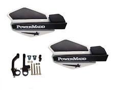 Powermadd Star Series Handguards Guards White / Black Snowmobile Ski Doo Summit