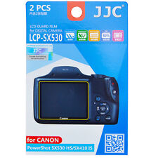 2x Film LCD Screen H3 Hard Protection for Canon PowerShot SX530HS SX410 IS