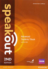 Pearson SPEAKOUT 2nd EDITION Advanced Students' Book with DVD-ROM @NEW@
