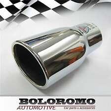 Cola de tubo de escape Silenciador Recortar Cromo se ajusta a Honda Accord Cívico CR-V Jazz Integra