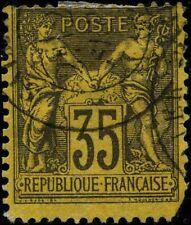 France 1876 stamps definitive USED Mi 75 CV $33.00 171230059