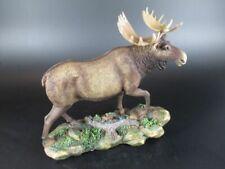 Elch Moose Tierfigur 20 cm Weihnachten Souvenir Scandinavien