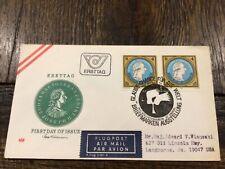 Stamps Austria 🇦🇹 1981, Fdc Sc# 1730, 200 Birthday of Edict of Toleration
