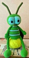Baby Toy Crocheted Handmade Amigurumi animals,  Grasshopper