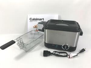 Cuisinart  CDF-100 Gourmet 1.1 Liter Mini Deep Fryer with Basket