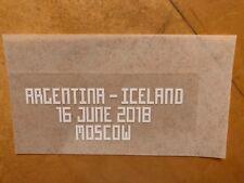2018 FIFA World Cup Match Details -  Argentina vs Iceland  June 16, 2018