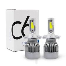 2 x COB H4 LED 200W 40000LM Car Headlight Kit Hi/Lo Beam Auto Bulbs 6000K White