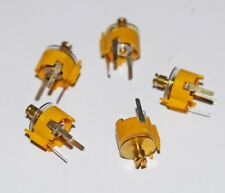 5 PIECES FILM DIELECTRIC TRIMMER CAPACITOR APPROX 1-16pF