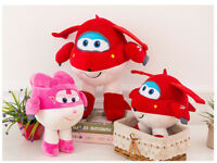 Super Wings TV Animation Gift Plush Soft Toy Doll Stuffed Kids Birthday Gift