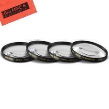 67mm Close-Up Filter Set (+1, +2, +4 and +10 Diopters) Magnificatoin Kit for...