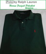 Redfield Polo manica lunga Piqu/é marrone oversize
