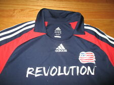 Adidas Clima365 NEW ENGLAND REVOLUTION (XL) Polo Shirt Jersey w/ Logo Patch