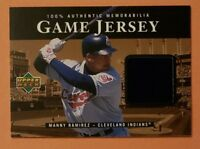 2000 Upper Deck, Manny Ramirez, Cleveland Indians Game Used Jersey