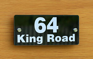 PERSONALISED HOUSE OFFICE SIGN / PLAQUE / DOOR / NUMBER / VINYL ACRYLIC
