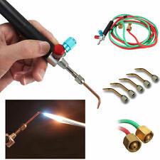 JEWELERS  LITTLE TORCH with 5 TIPS FOR SOLDERING & WELDING W/ BUTANE & OXYGEN