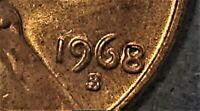 1968 S DDO RD DOUBLED DIE ERROR LINCOLN CENT GREAT COIN IN US MINT CELLO UNOPEND